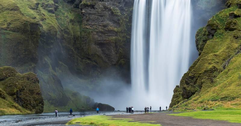 Походы в Исландию 2017 - Скоугафосс