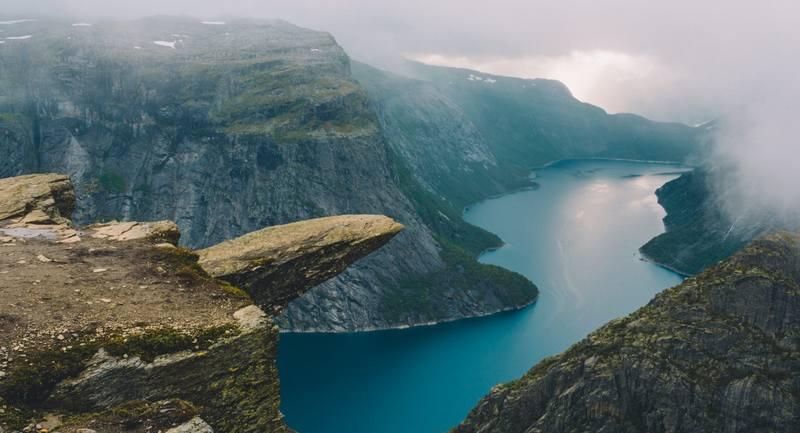 Треккинг в Норвегии 2017 - Язык Тролля