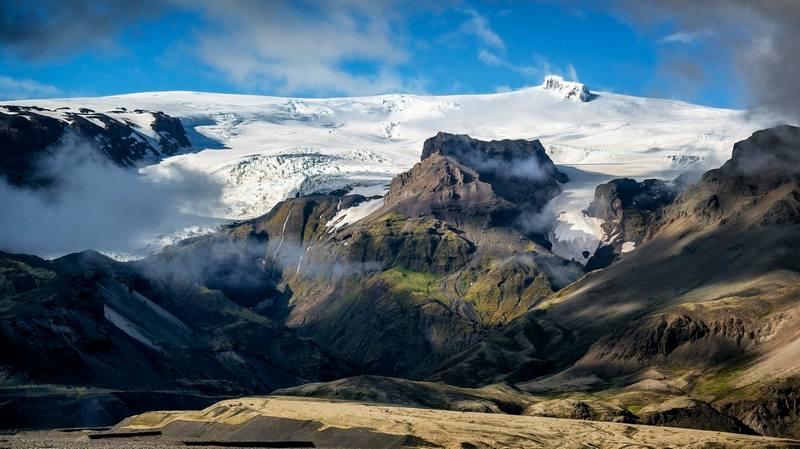 Походы по Исландии в июне - Скафтафетль
