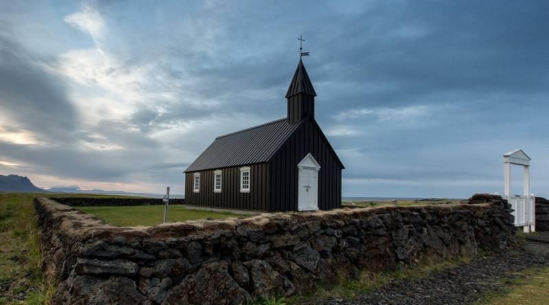 Походы по Исландии в августе - церковь