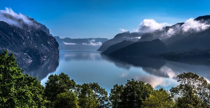 Походы по Норвегии в июне - Люсе-фьорд