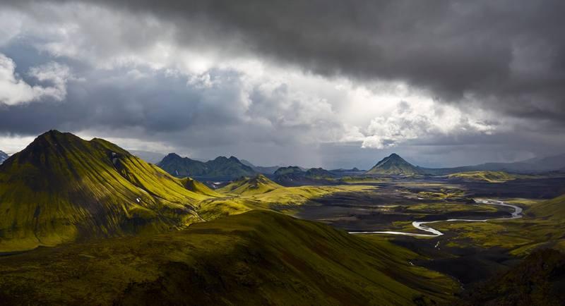 Горы Исландии
