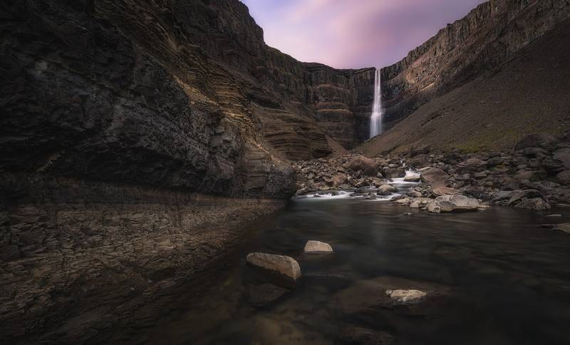 Исландия - водопад