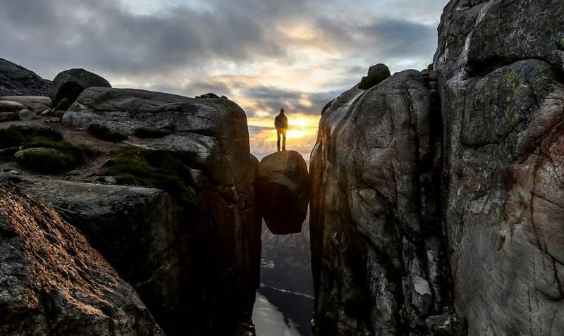 Походы по Норвегии в июне - Кьёрагболтен