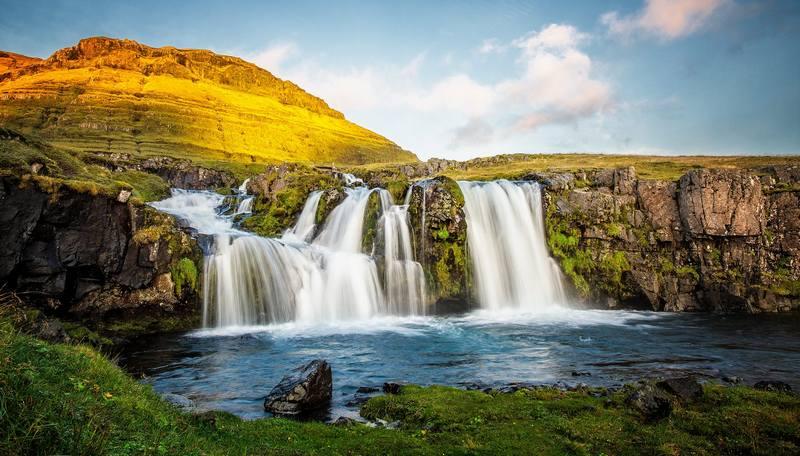 Походы по Исландии в сентябре - водопады