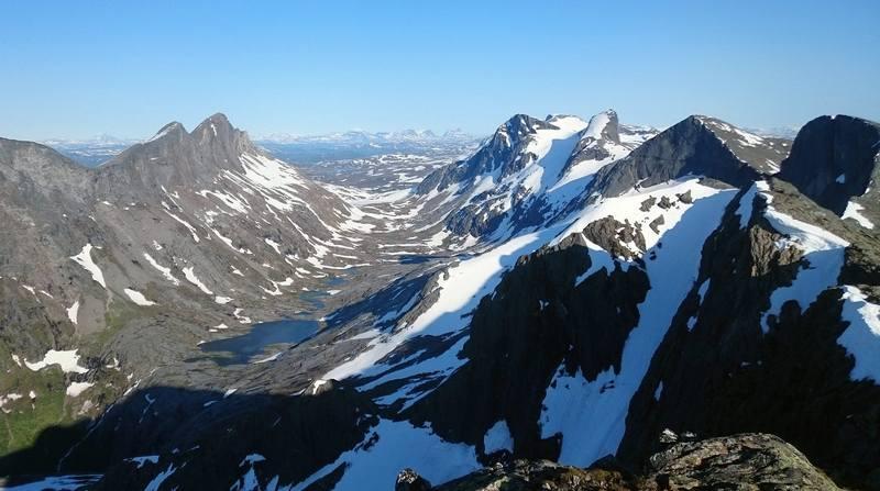 Особенности треккинга в Норвегии в июле