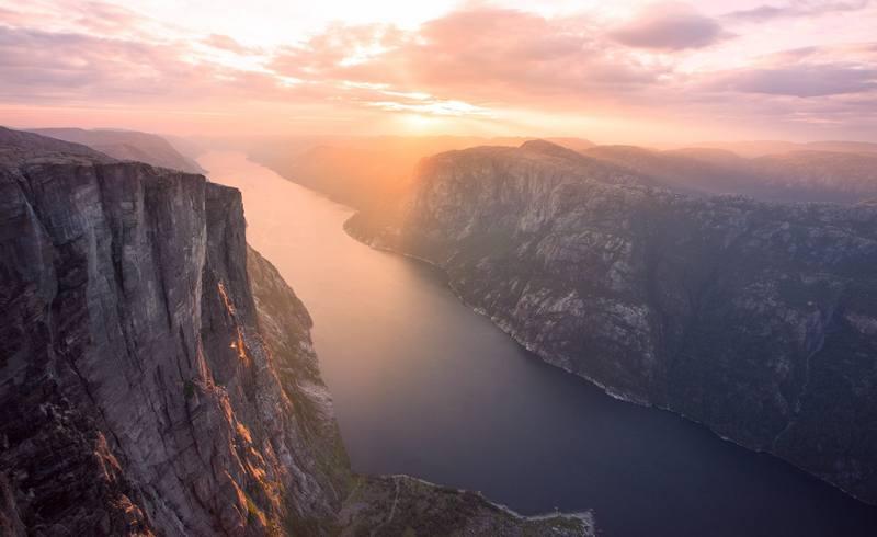 Особенности походов по Норвегии в июле
