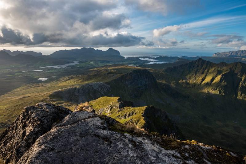 Походы по Норвегии в августе - горный пейзаж
