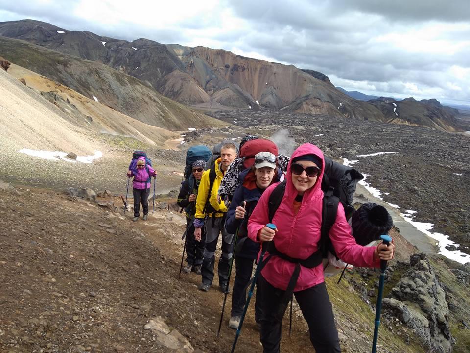 Путники в исландском походе