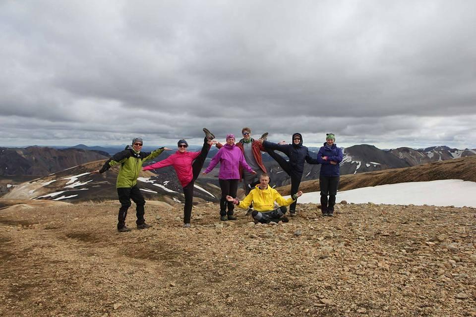 Группа Trolltours в Исландии