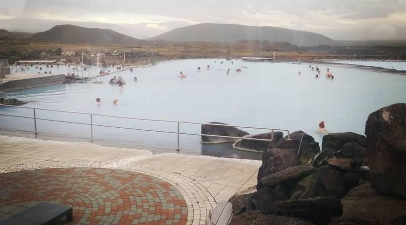 Горячие источники на севере Исландии