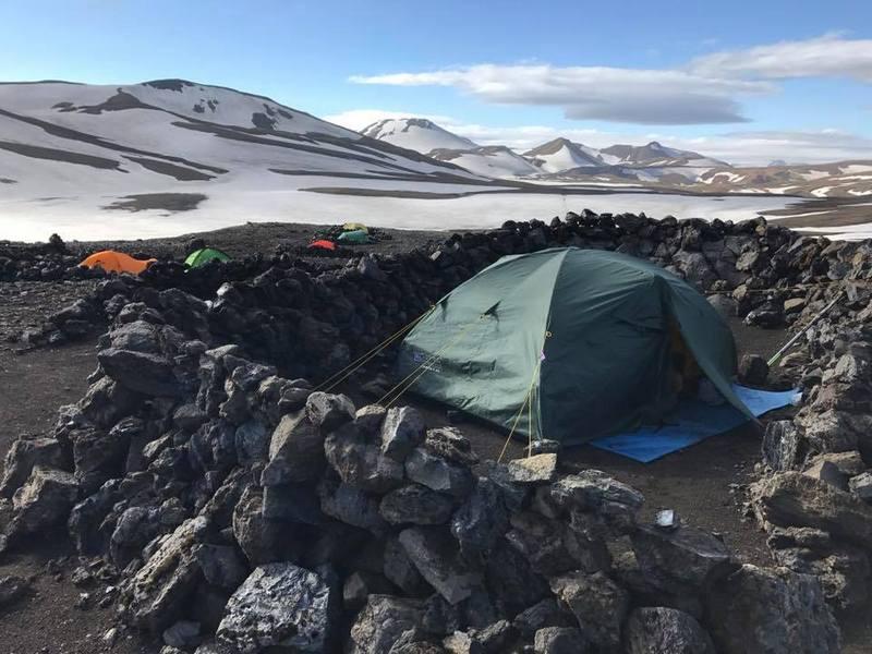Укрепленный лагерь в Норвегии