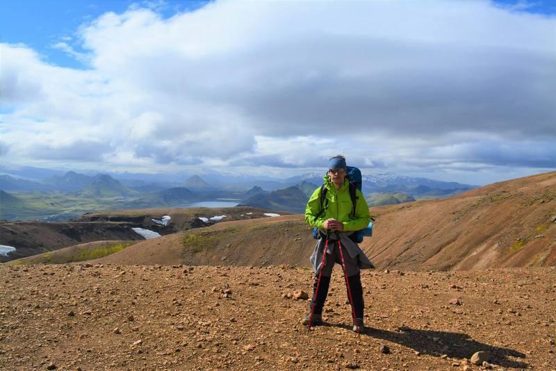 турист в Исландии
