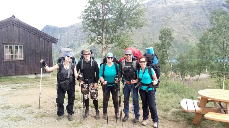 5 туристов в Норвегии