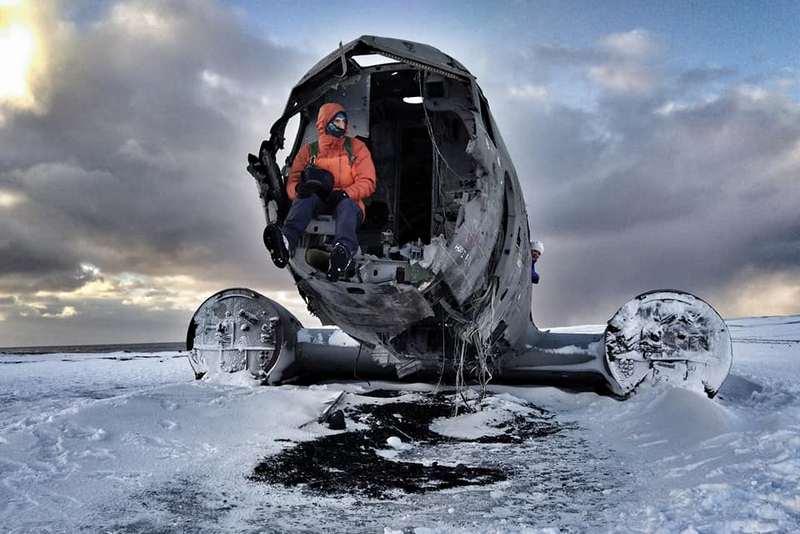 Развалины самолеты