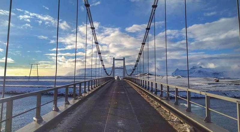 Мост в Исландии
