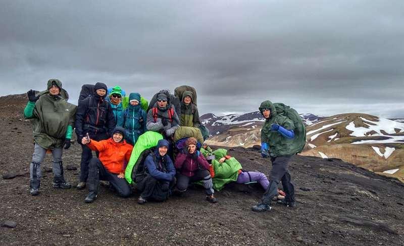 Группа треккинг в Исландии