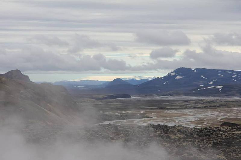 Туман над Исландией