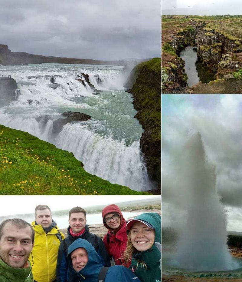 Андрей Пилипюк в Исландии