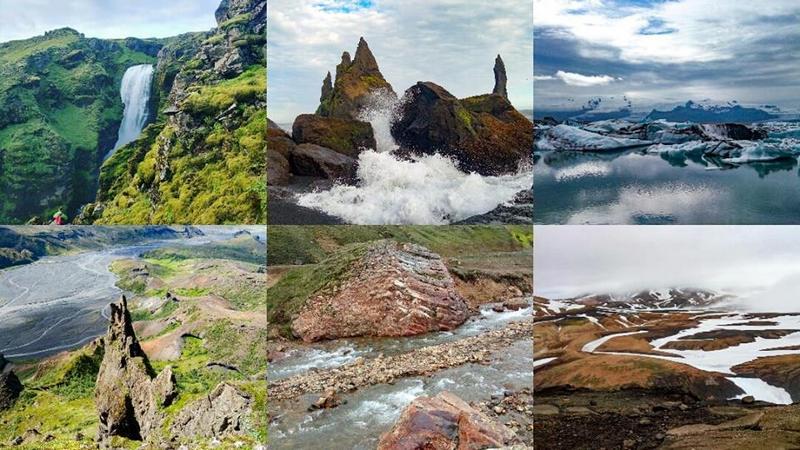 Коллаж Исландия